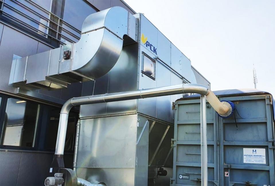 VKP BV kiest voor energiezuinige stofafzuiging: de cascade stofafzuiging van PCK