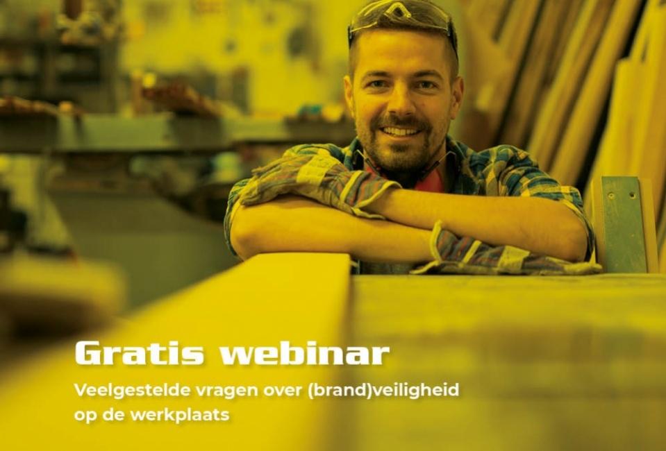 Gratis online workshop: Brandrisico's in de werkplaats van de houtindustrie